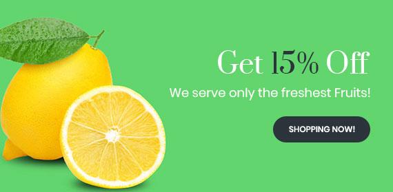 15% Off Lemon Juice