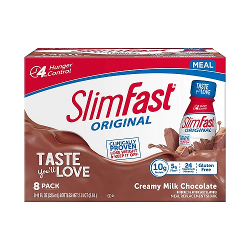 SlimFast Original - Weight Loss Meal Replacement RTD Shakes